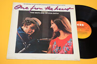 TOM WAITS CRYSTAL GAYLE LP ORIG SOUNDTRACK ONE FROM THE HEART 1°ST OLANDA EX
