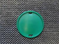 macaron plastique Vert pour insigne béret ABC / Légion