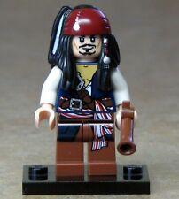 NEW LEGO CAPTAIN JACK SPARROW MINIFIGURE - PIRATES OF THE CARIBBEAN