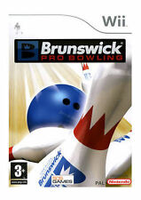 Brunswick Pro Bowling - New Factory Sealed PAL With Official Nintendo Tear Strip