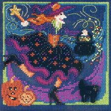 Magic Brew Cross Stitch Kit Mill Hill 2012 Buttons & Beads Autumn