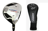 AGXGOLF FAIRWAY XS 11 WOOD (30°) MENS RIGHT GRAPHITE SHAFT ALL SIZES +HEAD COVER