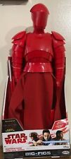 "Disney Star Wars BIG FIGS Elite Praetorian Guard 18"" 2017 The Last Jedi"