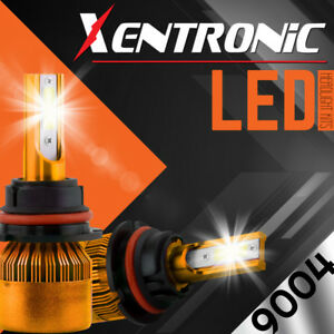 XENTRONIC LED HID Headlight kit 9004 HB1 White for 1988-1993 Mercedes-Benz 300CE