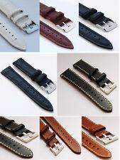 Echt Leder Uhrenarmband   14mm 16mm 18mm  20 mm 22mm 24mm 26mm 28mm