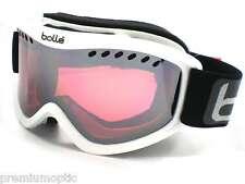 Bolle CARVE Ski Snowboard Goggles Shiny White / Vermillon Gun Mirror 20783