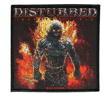 Disturbed Indestructible  Aufnäher Disturbed Patch Gewebt & Lizenziert !! SP2618