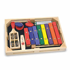 NEW Melissa and Doug Beginner Band Set 7 pc musical and rhythm instruments 3+