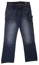 Stonewashed Long JACK & JONES Cotton Jeans for Men
