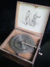 Lochplatten-Spieldose, KALLIOPE Musikwerke, inkl. 42 Lochplatten!