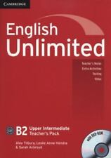 English Unlimited Upper Intermediate by Alex Tilbury (2011, Paperback / Mixed...