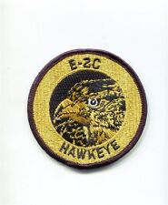 US NAVY GRUMMAN E-2C E-2 HAWKEYE VAW CARRIER 3 Gold Squadron Cruise Jacket Patch