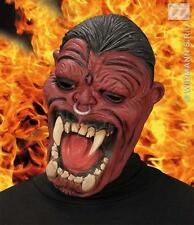 Adult Hell Boy Raiser Demon Devil Monster Face Mask Halloween Fancy Dress