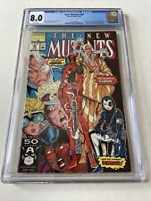 The New Mutants #98 (1991 Marvel) 1st Deadpool CGC 8.0 (Rob Liefeld X-Force)