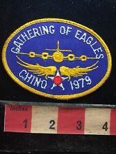 CHINO California 1979 GATHERING OF EAGLES Patch ~ Airplane 75WO
