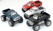 USD - Kinsmart Dodge Ram Big Foot Monster Pull Back & Go Off Road Toy Truck 1:44