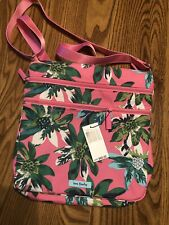 Vera Bradley Triple Zip Hipster ~ Tropical Paradise ~ Crossbody ~ LightenUp Poly