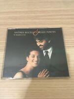 Andrea Bocelli & Dulce Pontes - 'O Mare e Tu - CD Single - Sugar 1999 RARO!