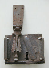 Very old and rare zoomorphic lock with dragon body