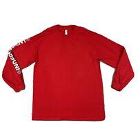 Vintage Independent Truck Company Skateboard Long Sleeve Shirt Red Men's Large