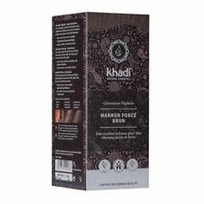 Khadi - Marron foncé brun - Coloration végétale naturelle 100g