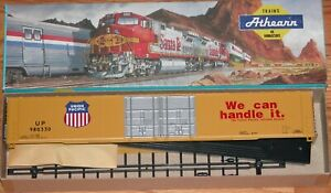 ATHEARN 2951 86' HI CUBE 4 DOOR BOXCAR KIT UNION PACIFIC UP 980330
