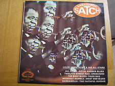 Ambassador Satch LP by Louis Armstrong & His All-Stars - Hallmark Records SHM751
