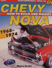 LIVRE/BOOK : Chevy Nova 1968-1974 - How to Build and Modify (voiture muscle car