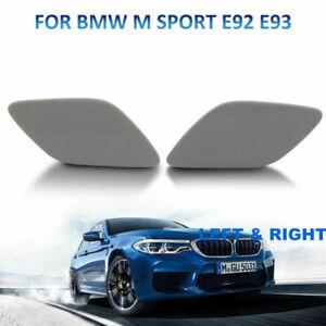 1 Paire Pare-chocsPhare Jet d'eau Couverture Casquette Pour BMW Série 3 E92 E93