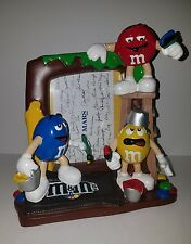 Mars M&M Candy Coated Picture Photo Frame Red Yellow Blue Painting Ladder