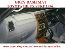 GREY DASH MAT, DASHMAT, DASHBOARD FIT  TOYOTA HILUX  SURF 1996, GREY WITH AIRBAG