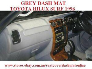 GREY DASH MAT, DASHMAT, DASHBOARD FIT  TOYOTA HILUX  SURF 1996, GREY WITH AIRBAG
