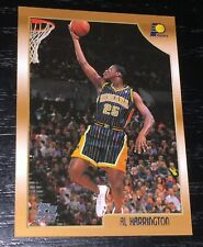 1998-99 Topps AL HARRINGTON RC card #133 ~ Indiana Pacers Rookie ~ F1
