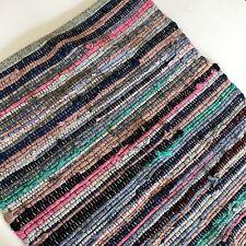 Threshold Accent Rug Shower Bath Bathroom Mat Opal House Boho Woven Multi Color