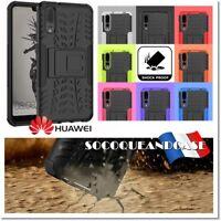 Etui Coque Housse Dual layer Shockproof Heavy Duty Case Huawei P20, lite ou pro