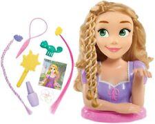 Disney Princess Rapunzel Deluxe Estilo Cabeza Juguete Muñeca