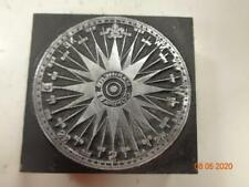 Printing Letterpress Printer Block Decorative Mariners Compass Print Cut