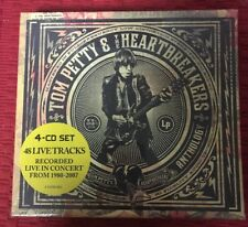 TOM PETTY & THE HEARTBREAKERS LIVE ANTHOLOGY 4-CD SET.  48 SONGS