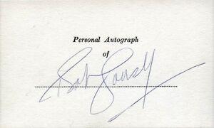 BOB COUSY Autograph