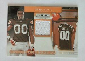2011 Rookies & Stars Greg Little Cleveland Browns North Carolina 226/249 Jersey