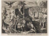 Painting Stradanus Ferdinand Magellan's Portugal Wall Canvas Art Print