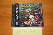 Crash Bandicoot: Warped (PS1 PSX Playstation) NEW SEALED BLACK LABEL NM, RARE!