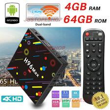 2018 H96 Pro MAX 4GB+64GB Android 7.1 TV Box KODI HD Smart Network Media Player