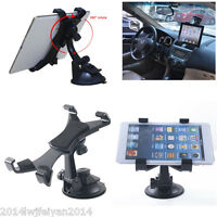"Autos Windshield Mount Holder Suction Stand Cradle For iPad Galaxy 7""-10"" Tablet"