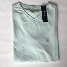 Polo Ralph Lauren Jersey V-Neck T-Shirt Blue Mens XXL
