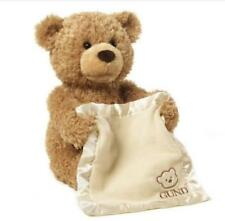 Play Peek A Boo Talking Teddy Bear 33CM Soft Toy BY Gund New With Tags Xmas Gift