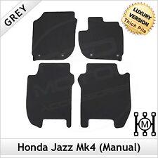 HONDA JAZZ manuale MK4 2015 in avanti Tailored LUSSO 1300g Tappetini Grigio