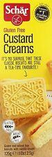 Schar Sans Gluten Crème pâtissière Crèmes 125g (Pack of 3)