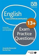 English for Common Entrance at 13+ Exam Practice Questions, Very Good Condition