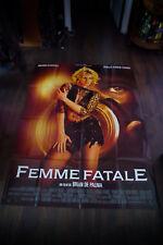 FEMME FATALE De Palma 4x6 ft Vintage French Grande Movie Poster Original 2002